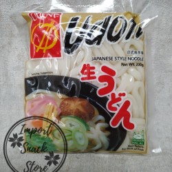 Orient Mie Udon 200gr / Japanese Style Noodle / Mie Basah Matang