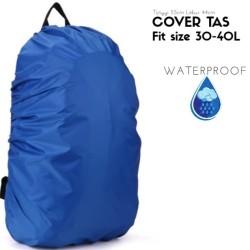 Cover tas punggung Cover bag Jas hujan tas Rain cover bag size 30'-40L