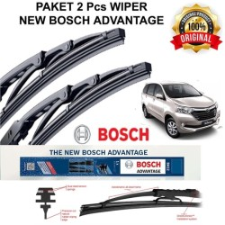 "Wiper Kaca Depan Avanza Xenia 2015 - UP Original Bosch 2pcs 20"" & 14"""
