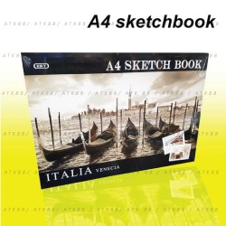Buku Gambar / Sketsa Kiky A4 50 Lembar
