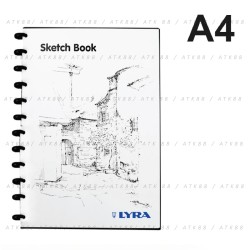 Lyra Sketch Book - A4