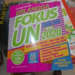 Jual Erlangga Fokus Un Ipa 2020 Kunci Jawaban Jakarta Pusat Maddstore67 Tokopedia