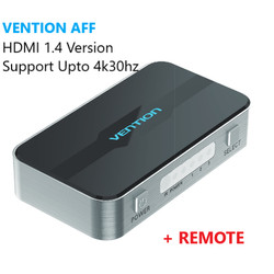 Vention AFF HDMI Switcher (3 in 1 out) 4K 3D FullHD High Quality