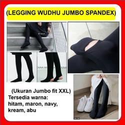 Celana Legging Wudhu Muslimah Spandex Premium All Size
