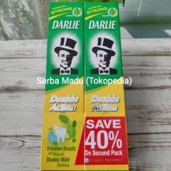 Darlie Double Action Toothpaste/Pasta Gigi/Odol 225gram (Paket 2pcs)