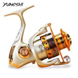 Reel Pancing YUMOSHI Spinning EF1000 12 Ball Bearing