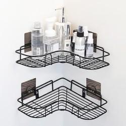 Godok| rak gantung dinding besi anti karat wc toilet kamar mandi sabun