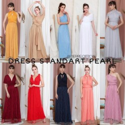 Jual Multiway Dress Dress Bridesmaid Infinity Dress Rose Gold Kota Surabaya Bowtiestoree Tokopedia