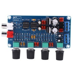 NE5532 HIFI Pre Amplifier Preamplifier Volume Active Tone Control EQ