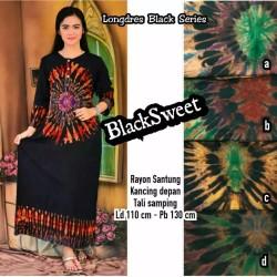 Gamis Batik / Longdress Batik / Baju Lengan Panjang