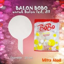BALON PLASTIK Balon LED/Balon BOBO/BOBO Balon/Balon Lampu Tumblr - Bobo bulat