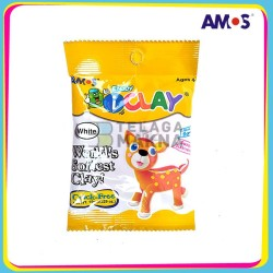 Mainan Anak AMOS I-Clay Putih 15 gram