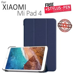Xiaomi Mi Pad Mipad 4 - Magnetic Leather Flip Case Cover