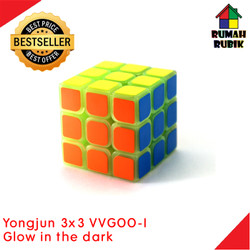 Rubik 3x3 Glow In The Dark / Rubik Glow In The Dark / Rubik Yongjun