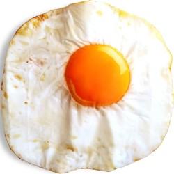 Selimut Bayi bentuk Telur Mata Sapi unik cocok untuk kado