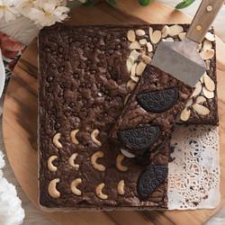 Brownies Fudgy Dark Chocolate TERMURAH