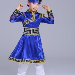 Baju tradisional Mongolia kostum costum anak negara Mongolia halloween