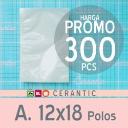 Plastik Vacum 12x18