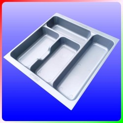 Rak Silver Sekat Laci Sendok Garpu Sumpit