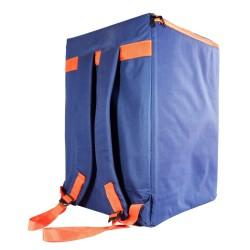 Tas Semi Hardcase Cajon Kotak Gigbag Softcase Biru