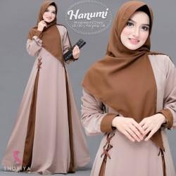 Baju Gamis Wanita Terbaru - Hanumi Dress Syari Muslim Murah