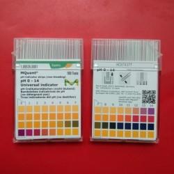 Merck Universal pH Paper | Kertas pH| pH indikator| Lakmus 0-14 109535