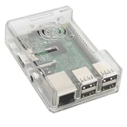 Raspberry Pi 3 ABS Case Box Enclosure Support Fan Wide 40pin GPIO hole