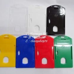 Frame / Casing kartu ID card name tag card holder PLASTIK