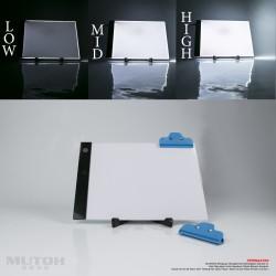 LED Drawing Tracing Board A4 (Dimmer sistem) Meja Gambar Jiplak A4