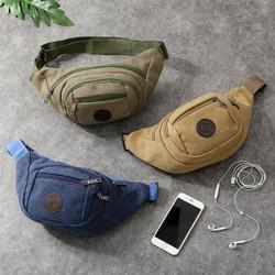 Tas Selempang Messenger Sling Waist Bag Sport