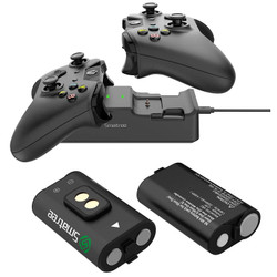 Smatree Battery Kit with Charging Dock for Xbox One, One S X Elite