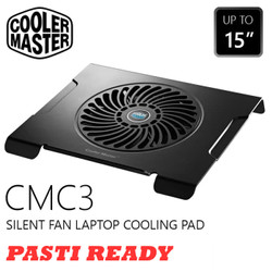 Cooler Master Notepal CMC3 Silent Fan Laptop Cooling Pad