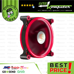 CUBE GAMING DOUBLE RING FAN V2.0 12CM 1300RPM RED LED