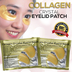 MASKER MATA - crystal collagen gold eye mask ORIGINAL BEST SELLER