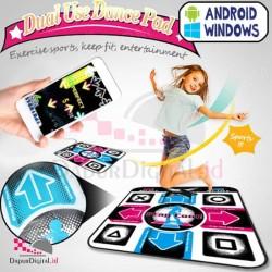 Karpet Dance 1 Orang + Musik SIAP MAIN Untuk PC/Notebook