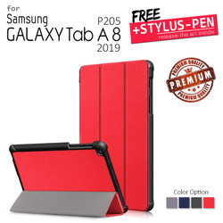 Samsung Galaxy Tab A 8 8.0 A8 2019 P205 - Magnetic Leather Flip Case