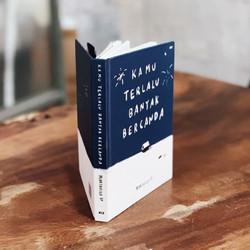 Buku KTBB Kamu Terlalu Banyak Bercanda Marchella Fp NKCTHI best seller