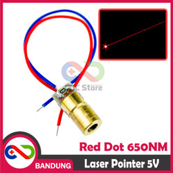 [CNC] LASER POINTER RED DOT 5V 650NM FOR ARDUINO UNO R3 MEGA NANO