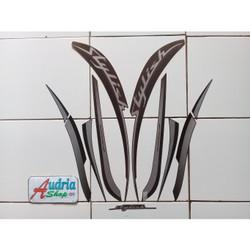 Striping Stiker Motor Honda Scoopy Stylish 2019 Mattebrown
