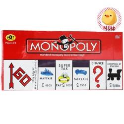 Mainan board game Monopoly Seri Dus Merah Mainan edukasi klasik