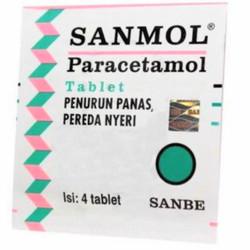 Sanmol Tablet Isi 4