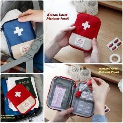 Korean Medical Pouch / Travel Pouch / Dompet Kotak Obat