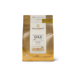 CALLEBAUT GOLD Caramel Chocolate Couverture 30,4% 250g