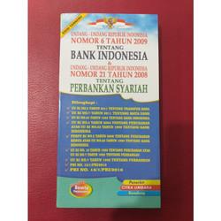 UNDANG-UNDANG TENTANG BANK INDONESIA & PERBANKAN SYARIAH/100276583