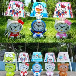 Lampu Tidur Tudung Dan Jam Weker Karakter HK/Doraemon/Bear/Keroppi