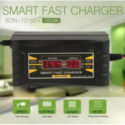 Smart Fast Charger Accu Souer 12v SON 1206D Cas Aki 1206 D Mobil Motor