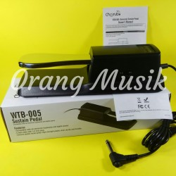 Pedal Sustain Keyboard Cherub WTB-005 Universal untuk Yamaha Korg dll