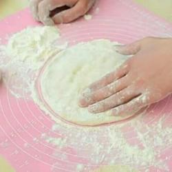 Silikon mat /matras kue alas adonan kue anti slip 40x50cm
