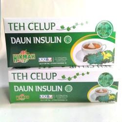 Teh celup diabet daun insulin