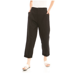 Kama Linen Pants in Black - Beatrice Clothing Official